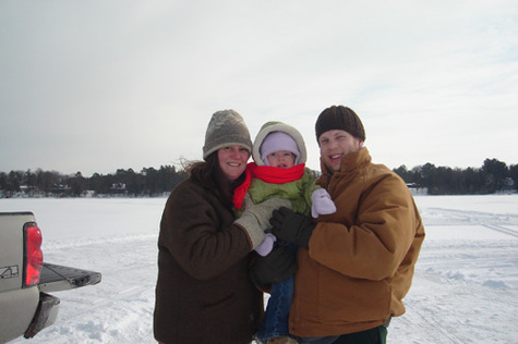 Icefishingfamily